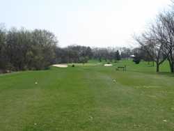 Hole 8 White & Red Tees